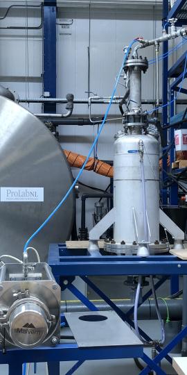 ProLabNL Desander single liner separation